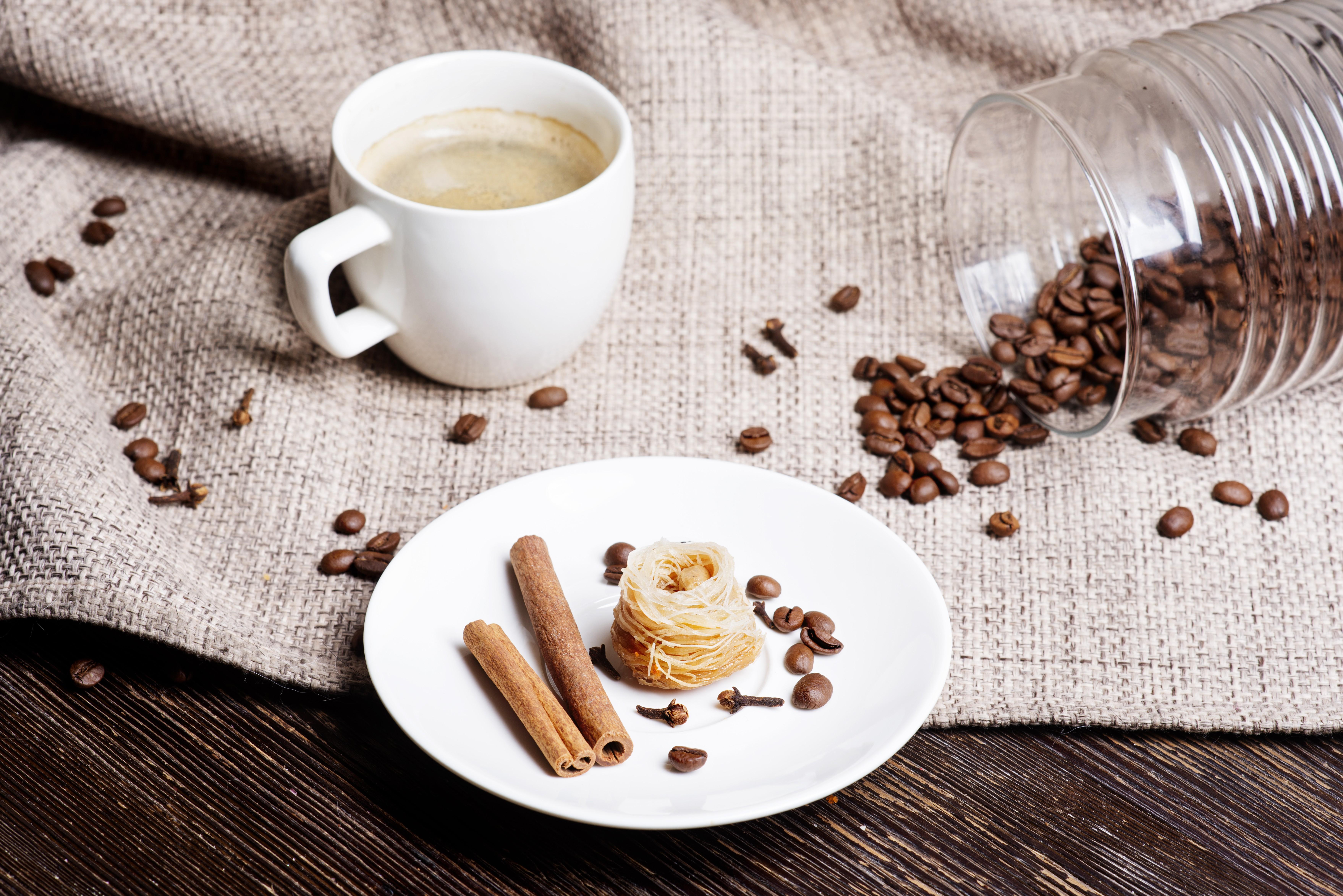 Vánoční kávové cukroví